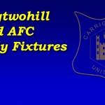 Fixtures 21st Aug