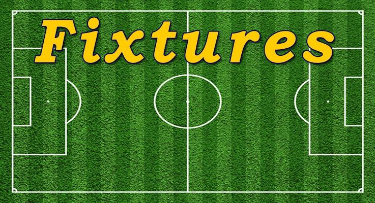 Fixtures 19/20th Sept
