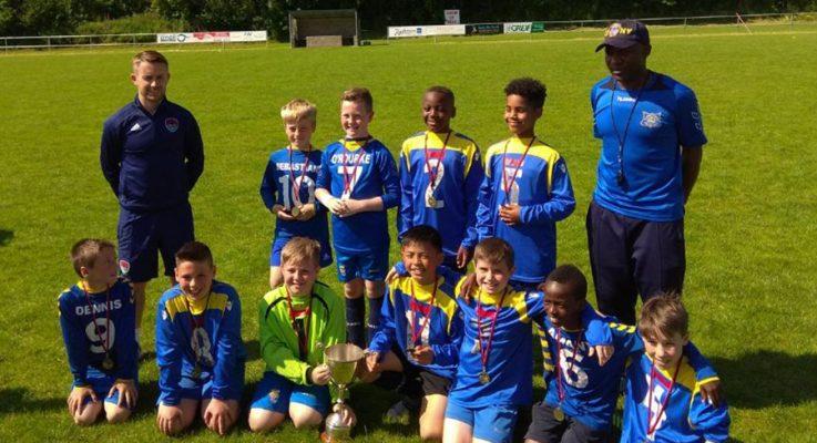 U11's win the Dennis Cambridge Cup