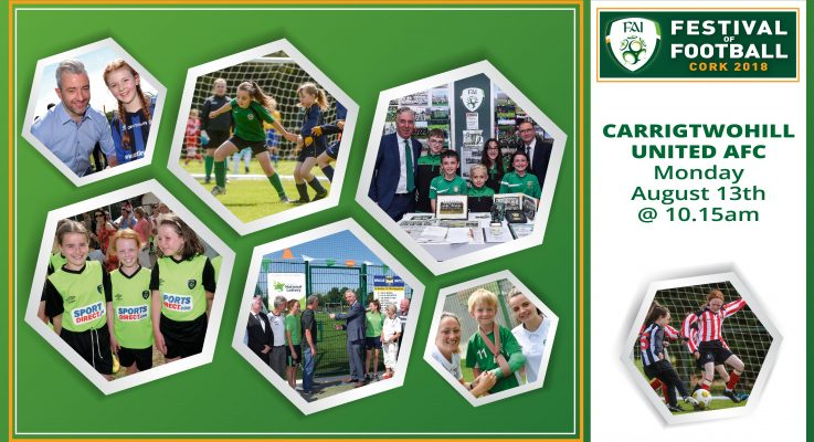 A Very special Visit from The FAI Festival of Football 2018