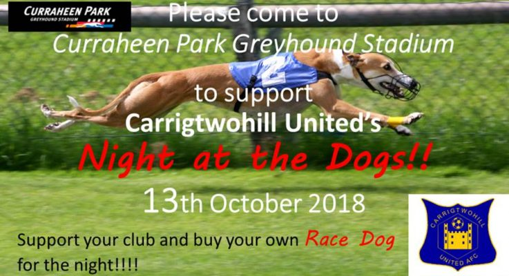 """Interested in teaming up with us for our """"Night At The Dogs"""""""