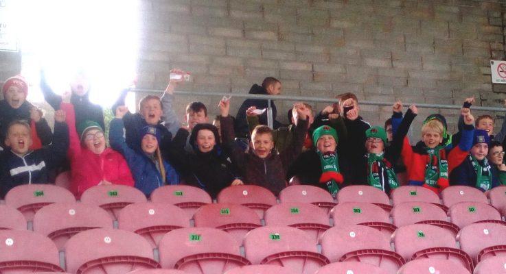 Under-10 at Cork City V UCD