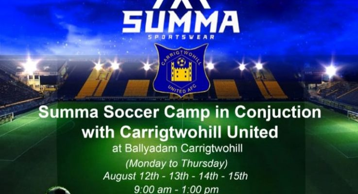 Carrigtwohill United – Summer Camp