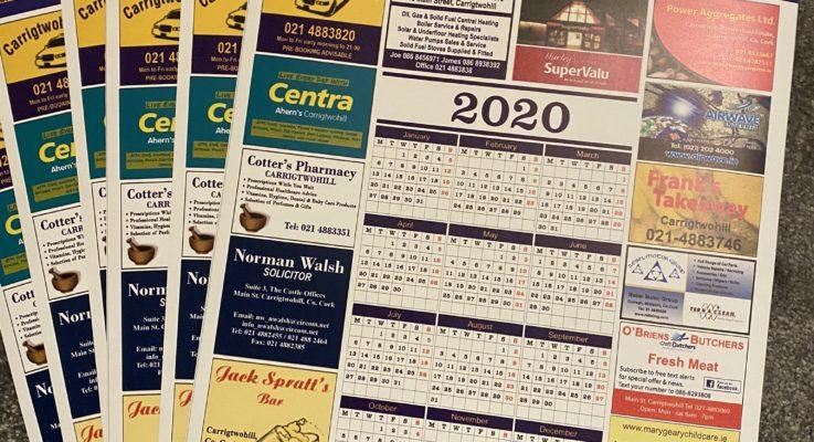 CUFC Calendar 2020